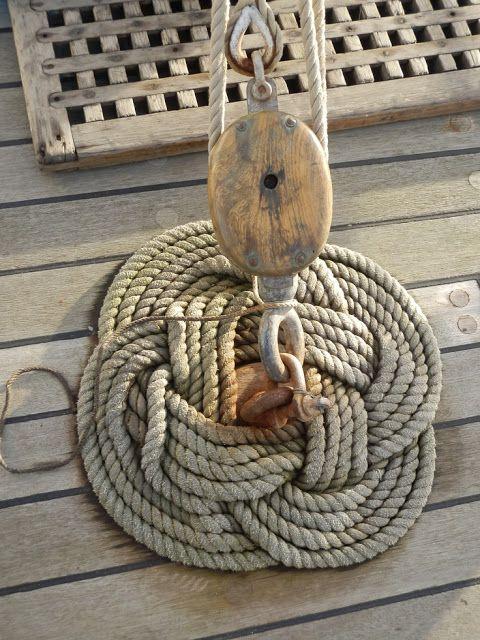 tall ship ropes