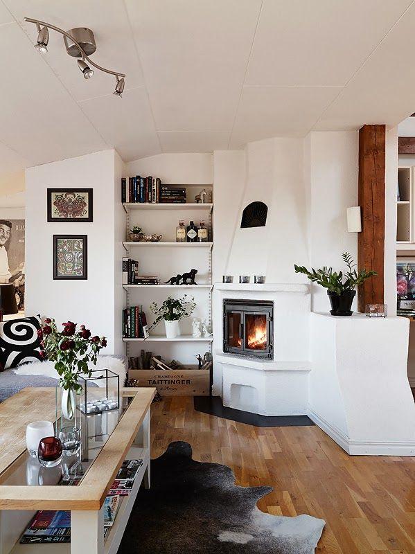 Jurnal de design interior - Amenajări interioare : Mansardă de 52 m² amenajată în stil scandinav