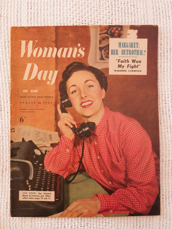 Woman's Day and Home magazine August 13 1951 by freshdarling