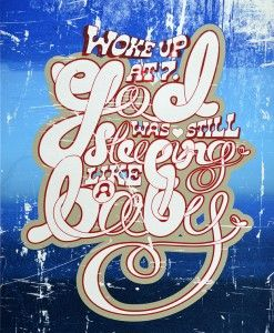 WOKE UP AT 7.