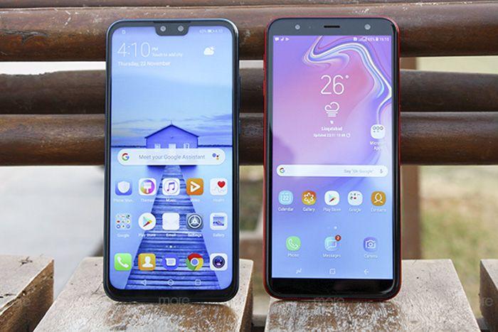 Huawei Y9 2019 vs Samsung Galaxy J6+: Mid-range Face-off