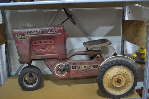 Tractor Pedal Car Parts : Best images about murray pedal cars tractors on
