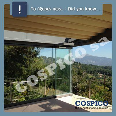 Ξέρατε οτι μπορείτε να καλύψετε μπαλκόνι, βεράντα, ταράστα, bbq με ανοιγόμενη οροφή ; http://bit.ly/24Ctjaq