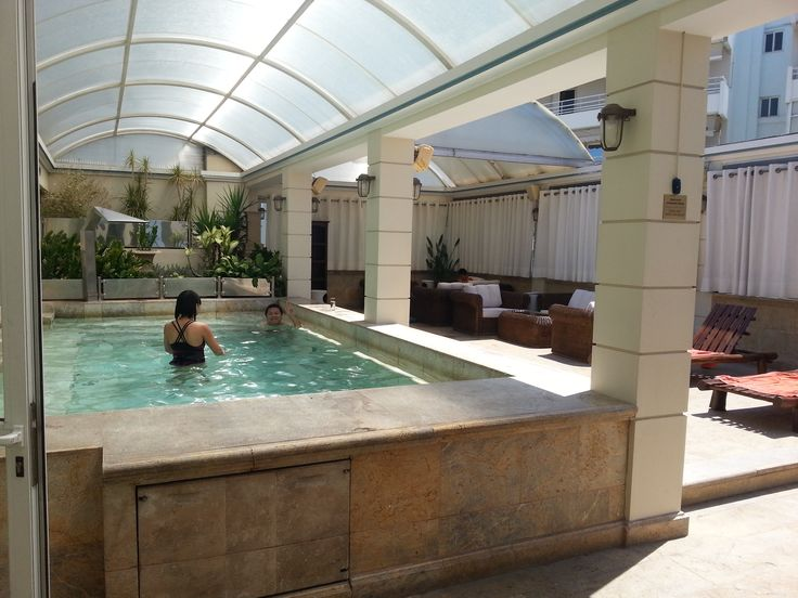 Relaxation in our amazing jacuzzi!