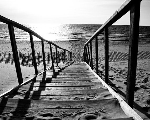 Black & White Photography  The Stairs at the by LifeDevelopedPhoto, $25.00