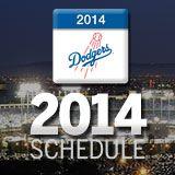 L.A. Dodgers 2014 Schedule