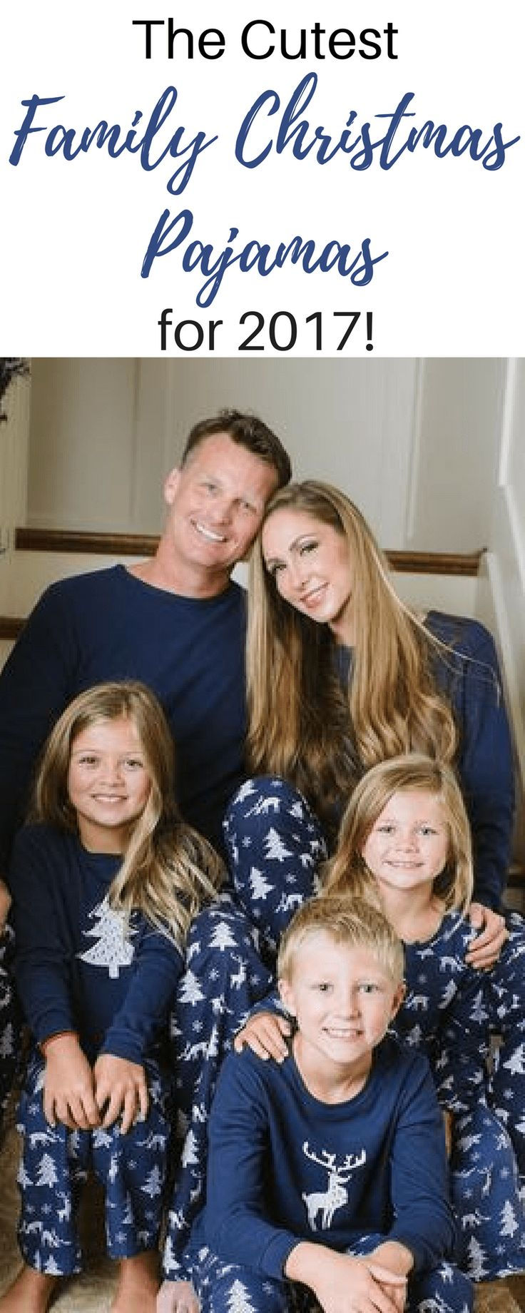 A Round up post of the cutest matching Christmas pajamas for your family! Shop the links in the post.