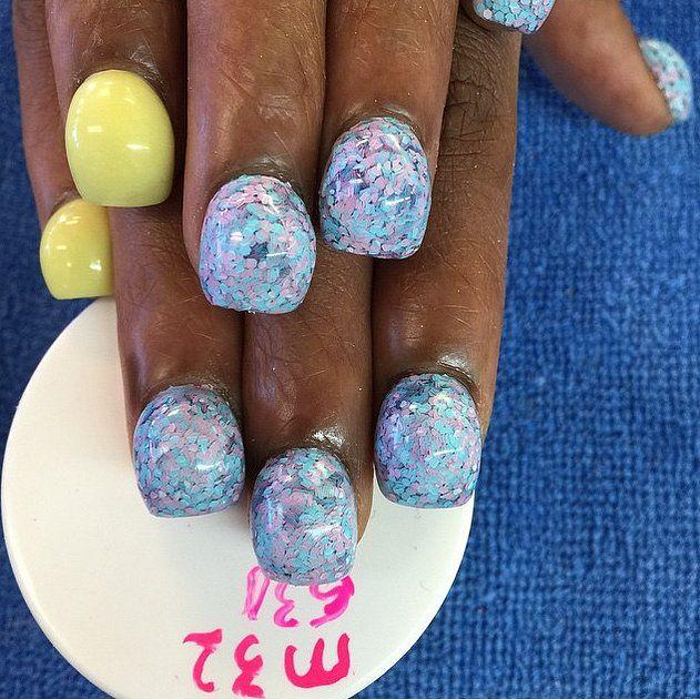 PLEASE NO!!!  Bubble Nails