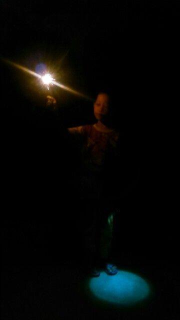 You light me..
