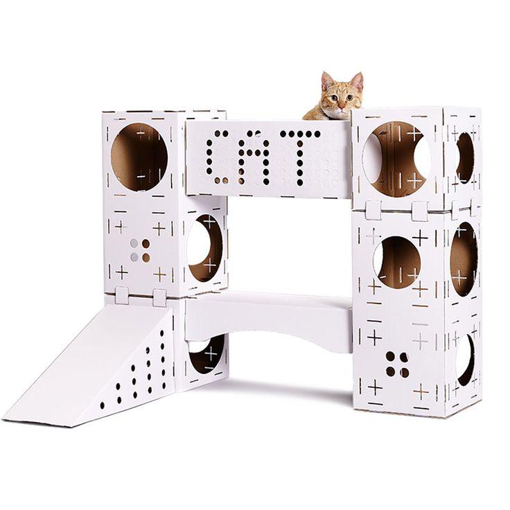 más  Mueble condominio para gato, Árbol para gato y Casas del gato