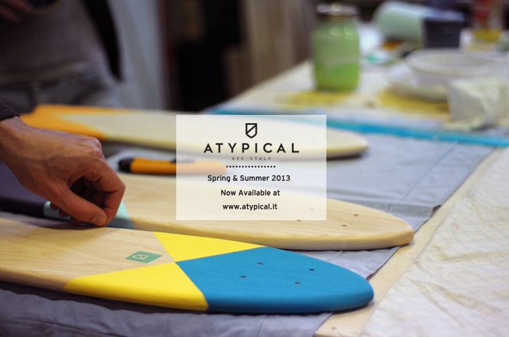 Atypical Bright Collection is now available at www.atypical.it