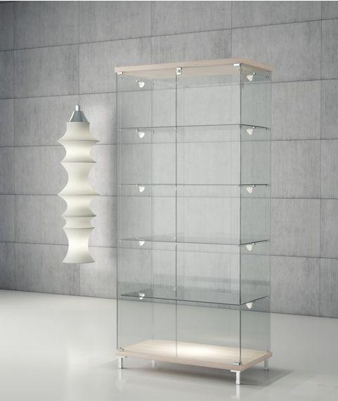 17 migliori idee su luci di legno su pinterest lampade for Vetrina in vetro