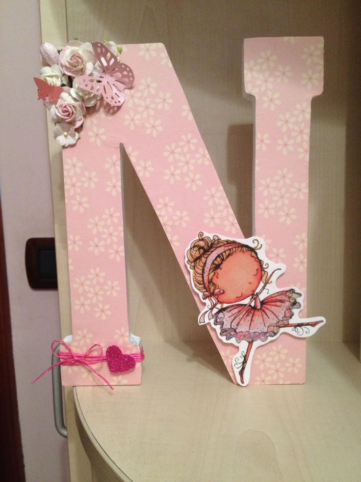 1085 best images about letras on pinterest wood letters decorated wooden letters and hanging - Letras decoradas scrap ...