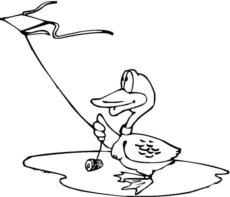 Duck Play Kite