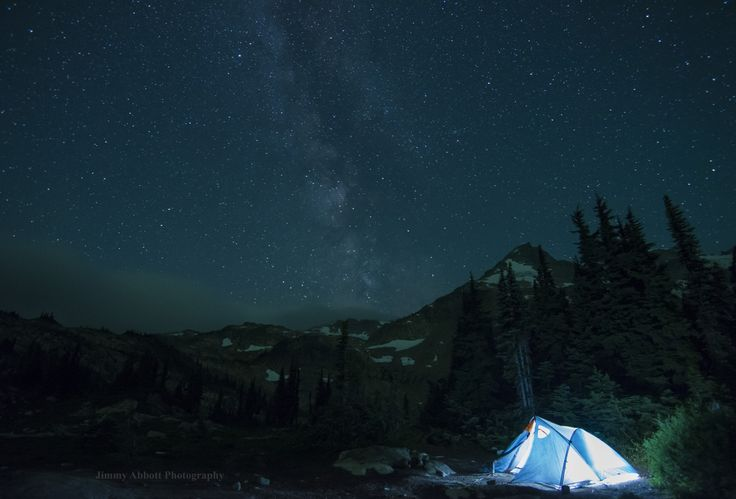 A couple of weeks ago we had an absolutely unreal night in BC's mountains.  Stars, the Milky Way and the Northern Lights.  Check out the full post at http://http://www.onelifeonewhistler.com/british-columbia-inspiration/