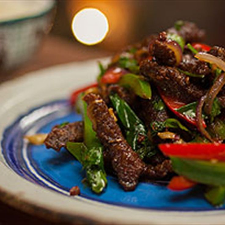dry fried szechuan shredded beef  recipe in 2020