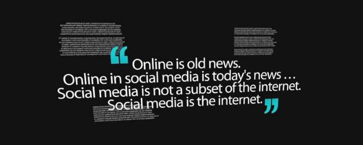 Social Marketing Quotes - Online Is Old News