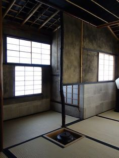 Japanese tea room, Chashitsu 茶室