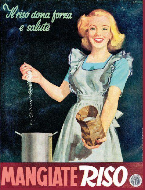 Pubblicità riso italiano