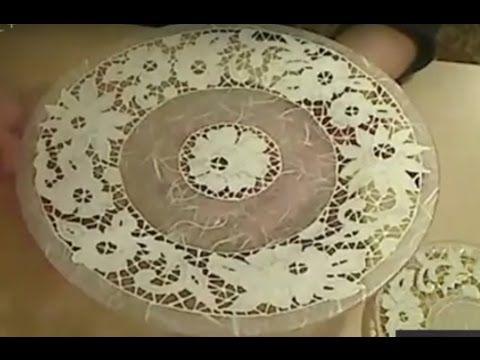 Елена Сухотина  Имитация вышивки ришелье  Создание волшебной, воздушной ...