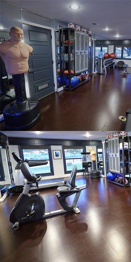 Fitnessraum zu hause gestalten  Die besten 25+ Hauseigenes fitnessstudio design Ideen auf ...
