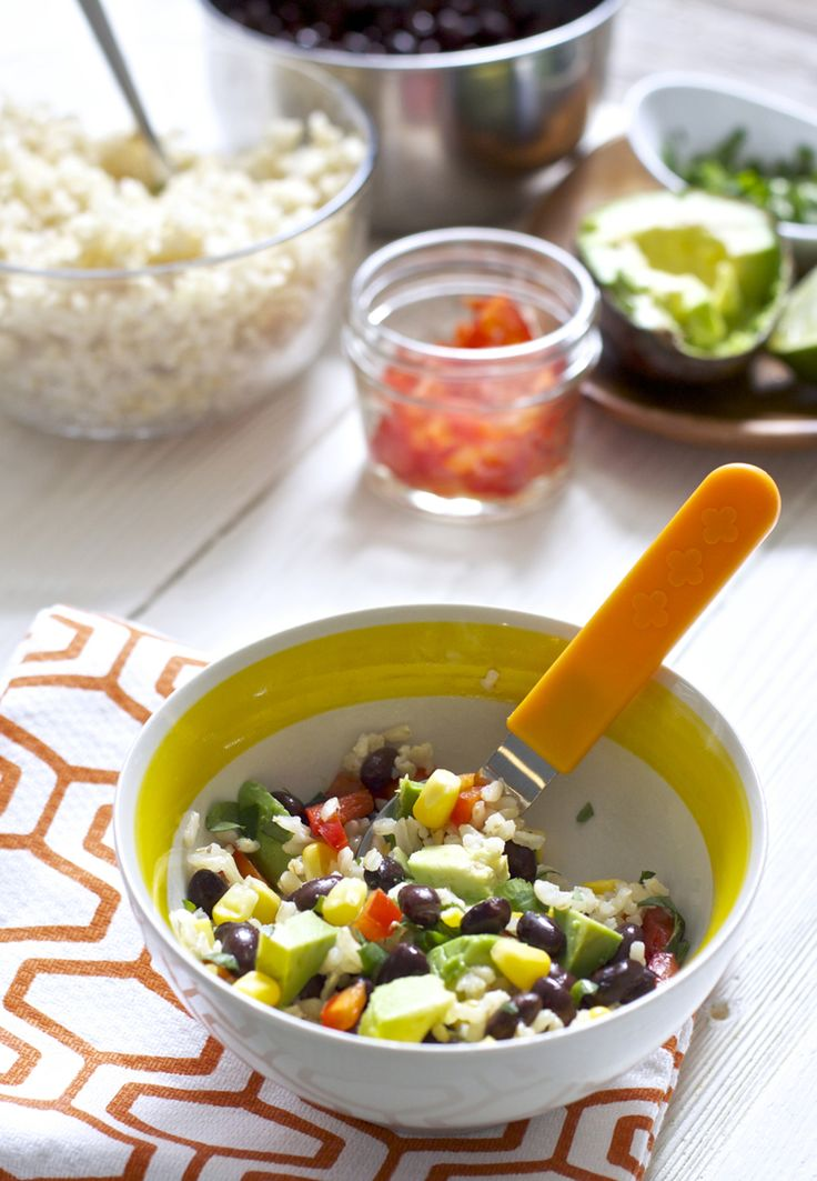 Fiesta bowl for toddlers