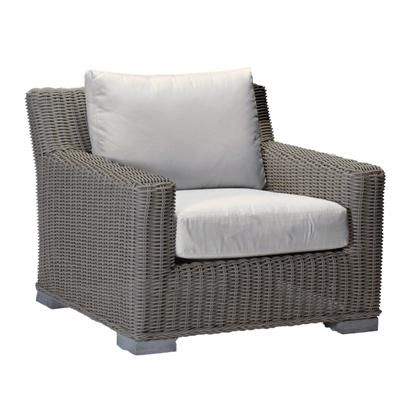 Rustic outdoor Lounge chair With Cushions sold by Lillian August