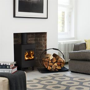 Contemporary Stoves - S11-42 inc Leg Set - The Morso S11-42 is a cleanly and well designed, fine example of what a stove small stove should be. This stove is so sleek, smart and compact that it looks fine in any room. Ideally this stove is for a smaller room, and as it`s a Morso it`s built to last and will give years of hassle free service.
