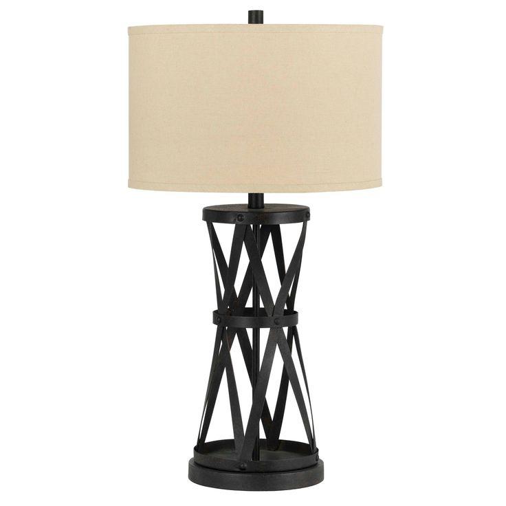 Passo Bronze Colored Iron 150 Watt Table Lamp Table Lamp Brown Lighting Table Lamp Iron Table