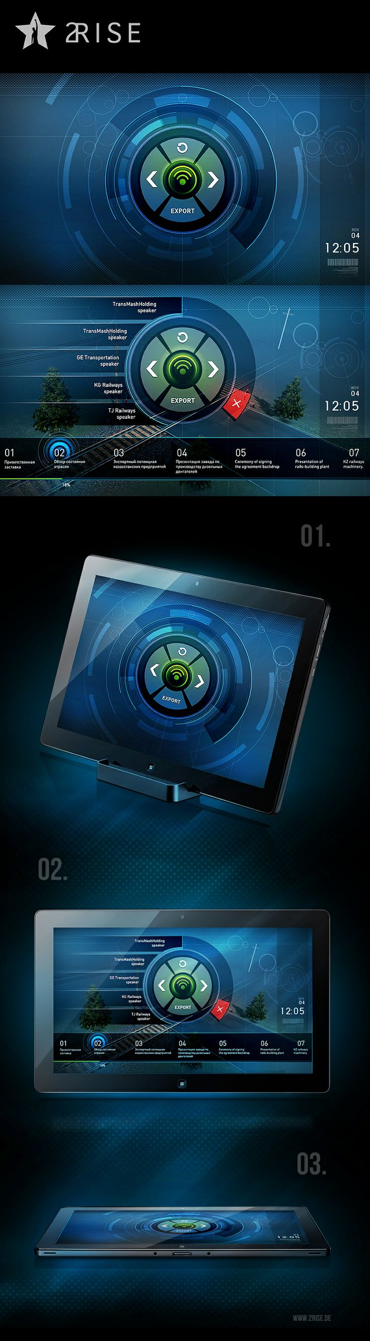 #2RISE TABLET CONTROL by Jedi88.deviantart.com on @deviantART