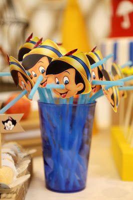Birthday: Pinocchio theme