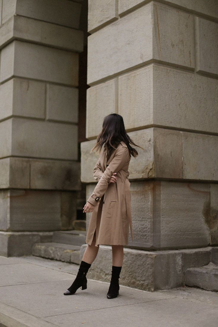 The Perfect Trench Coat — Allure of Simplicity