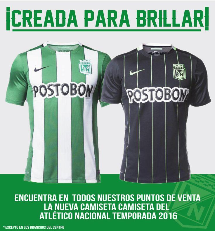 ¡Ya tenemos en Nuestras Tiendas Branchos la nueva Camiseta del Nacional! Te esperamos en Tiendas Branchos. Envíos a todo el país. Whatsapp: 3113846421