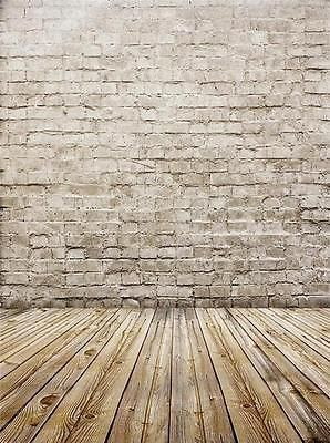 5x7ft Thin vinyl backdrop photography backgrounds brick wall background HD-15