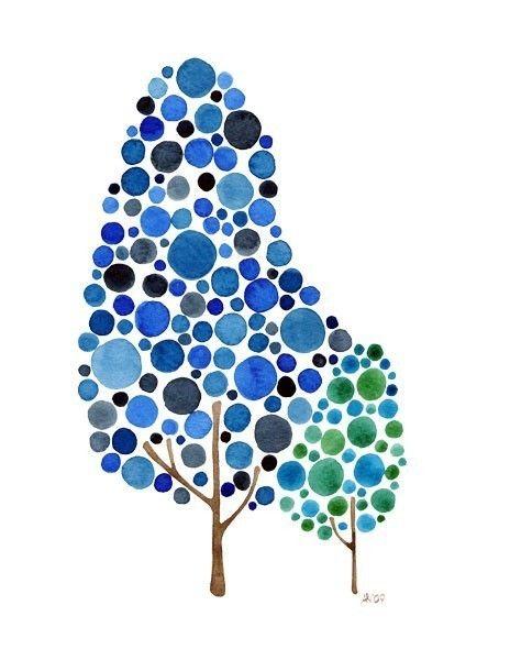 Watercolor Tree Like Father Like Son Print Family Tree Artwork Baby Boy Nursery Decor