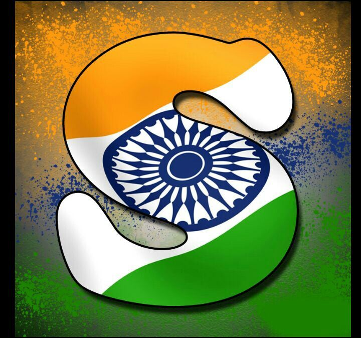 17 best india images on pinterest august quotes letter and letters independence day indian alphabet flag letter s tiranga profile picture dp spiritdancerdesigns Gallery