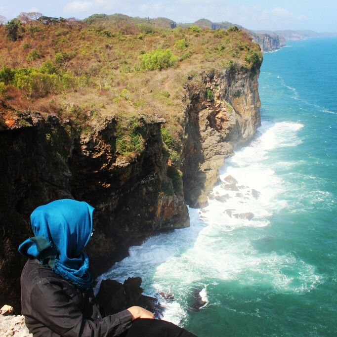 Location: Bekah Beach Gunung Kidul Yogyakarta Indonesia
