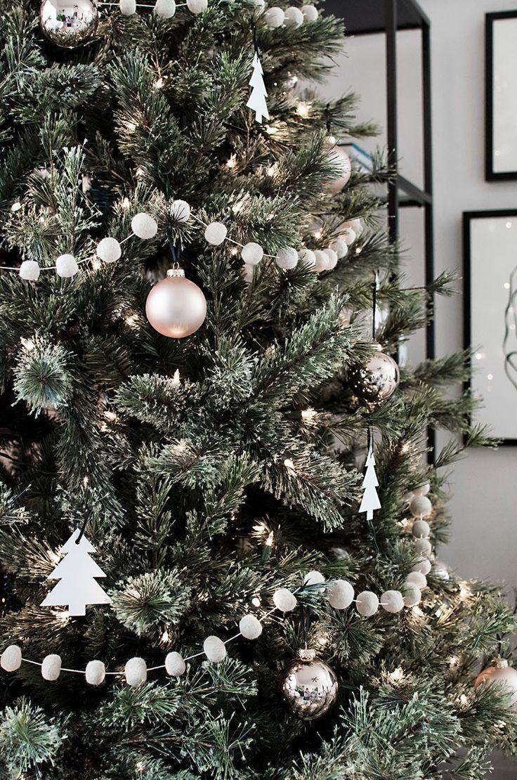 Minimaler skandinavischer Weihnachtsbaum – #Minima…