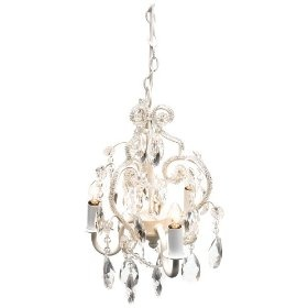 10 best nursery chandeliers images on pinterest mini chandelier tadpoles three bulb chandelier in white diamond 5999 amazon mozeypictures Image collections