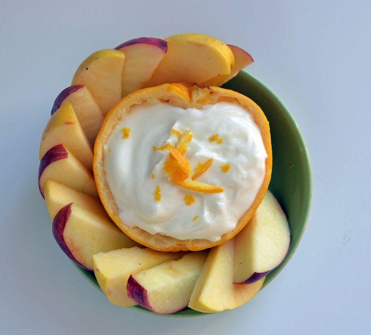 Citrus fruit dip! From Super Healthy Kids #nocookmeals #healthysnacks