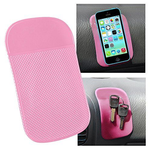 Best price on Everydaysource® Compatible with Samsung Galaxy S6/ Galaxy S6 Edge Samsung© Galaxy Note 4 / Apple® iPhone® 6 (4.7), iPhone® 6 Plus (5.5) Light Pink Magic Sticky Anti-Slip Mat // See details here: http://bestmobilecomments.com/product/everydaysource-compatible-with-samsung-galaxy-s6-galaxy-s6-edge-samsung-galaxy-note-4-apple-iphone-6-4-7-iphone-6-plus-5-5-light-pink-magic-sticky-anti-slip-mat/ // Truly a bargain for the inexpensive Everydaysource® Compatible with Samsung Galaxy…