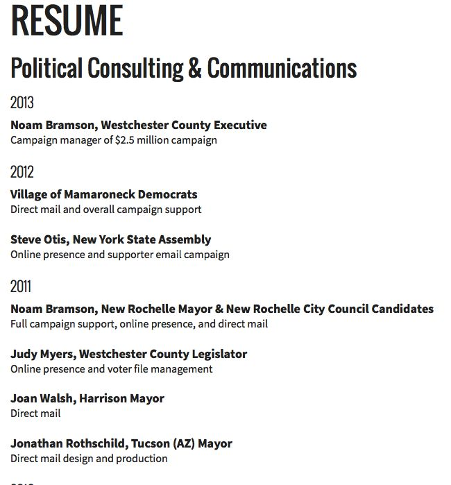 resume political consulting -    resumesdesign resume - campaign manager resume