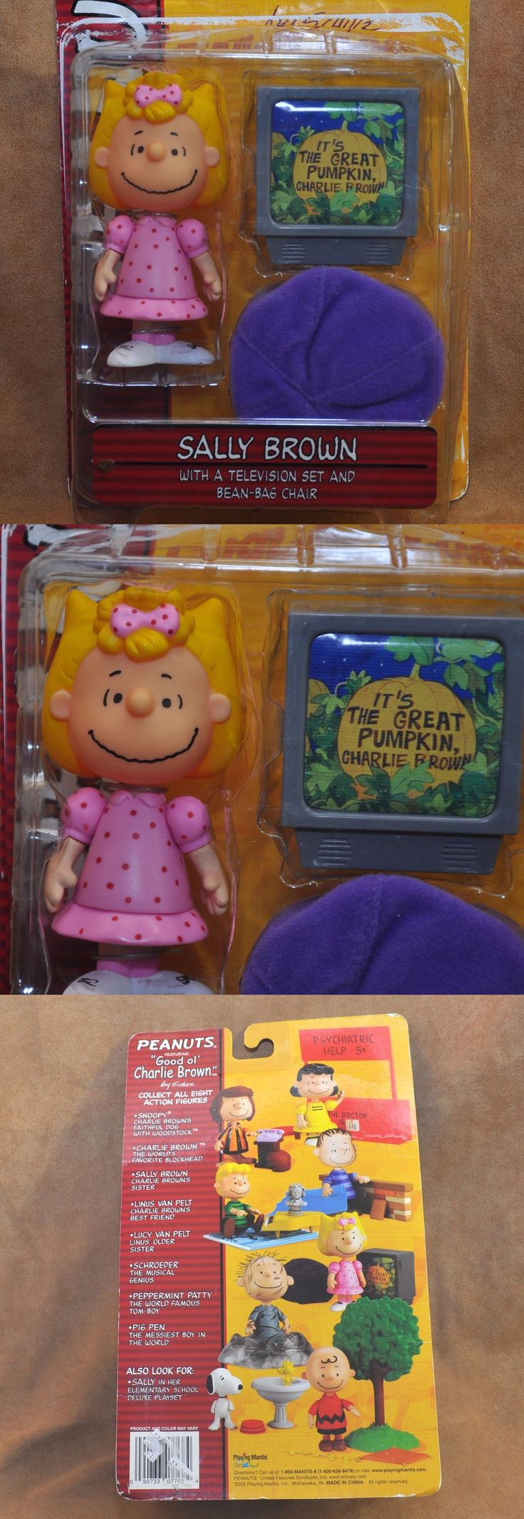 Peanuts Gang 773: Memory Lane Peanuts Sally Brown Figurine Set Beanbag And Tv Set Nip Grt Pumpkin -> BUY IT NOW ONLY: $32.99 on eBay!