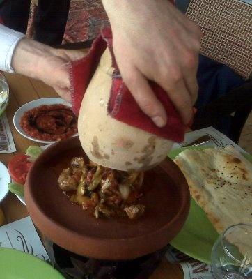 Testi Kebabı@Ürgüp