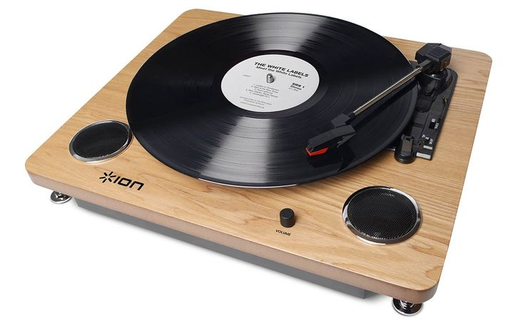 ION Audio Archive LP   Digital Conversion Turntable with Built-In Stereo Speakers and Diamond-Tipped Stylus