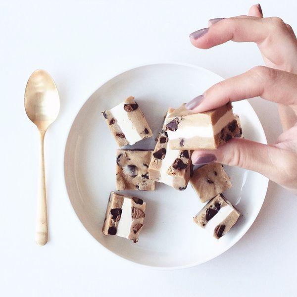 Cookie Dough Ice Cream Bites • Glitter Guide