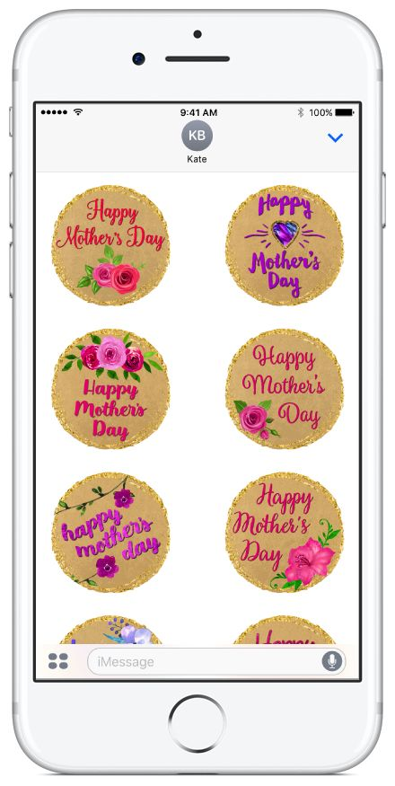 "Mother's Day sticker pack available on the App Store.  *** Featured by AppAdvice in Holiday iMessage Stickers Mothers Day Collection and Best Apps for Mother's Day ""Say it with stickers"" *** #mothersday #flowers #stickerpacks #stickers"