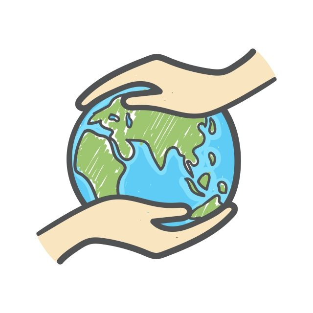 Hand Holding The Globe Hand Drawn Doodle Icon Ecology Care And Eco Friendly Concept Asia Background Campaign Png And Vector With Transparent Background For F How To Draw Hands Doodle Icon