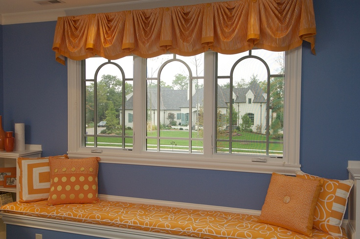 There's nothing better than a cute window seat accented with Windsor Clad Casement windows. www.windsorwindows.com