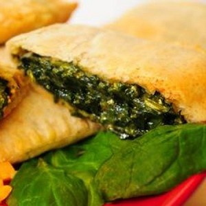 Caribbean Food Delights Spinach Jamaican Patties